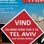 Vind en mini-ferie for 2 til Tel Aviv – afrejse i maj 2017
