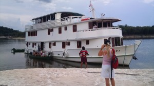 Amazon båden