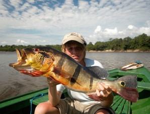 Tag med Danmarks Sportsfiskerforbund på drømmerejse til hjertet af Amazonas og fisk efter regnskovens fantastiske rovfisk