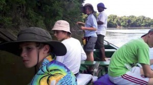 Fisketur for de unge - Hannah og Dan med flere