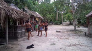 Lokal landsby