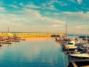 Israel yacht harbor